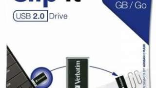 Verbatim Corporation 43951 16gb Clip-it Usb Flash Drive