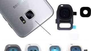 Zadnji Okvir Sa Staklom Kamere Za Galaxy S7 Edge (siva)