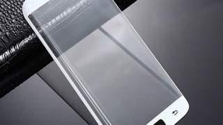 Zaštitno Staklo Za Samsung Galaxy S6 Edge Plus Bijelo