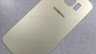 Zadnje Zlatno Staklo Za Samsung Galaxy S6