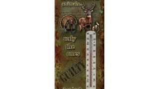 Novo Super River's Edge Products Tin Lovački Termometar