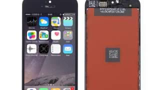 iphone 5s/se Lcd Staklo Ekran Dodir Crni Komplet