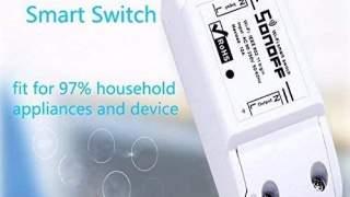 Sonoff WiFi Switch Za Kontrolu Uredjaja Preko Mobitela ili Glasa