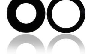 2X Crno Zamjensko Staklo Kamere za Apple iPhone 11