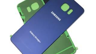 Zadnje Plavo Staklo Za Samsung Galaxy S6 Edge Plus  S6 Edge +