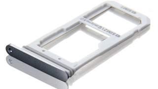 original Sim Drzac Holder Tray Za Samsung Galaxy S7 Sivi