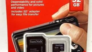 Sandisk 32gb Micro Sd Memoriska Kartica