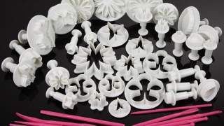 Dekorativni Set Za Torte Od 47 Različitih Komada