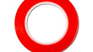 Tesa Red Tapetraka Ljepljiva S Obe Strane 5mmx25m Crvena