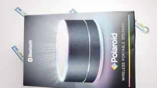 Polaroid Bluetooth Zvučnik Pbt456bk Crni Sa Led Svjetlima