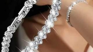 Novo Siva ženska Narukvica Kristalna Crystal Rhinestone