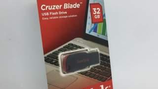 San Disk Usb Flash Drive 32gb Memorije