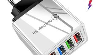 4x Brzi Punjac 3.0 Za Sve Uredjaje Koji Imaju USB Kabal