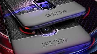 Crna Zaštitna Maska Shookproof Za Galaxy S8 Plus